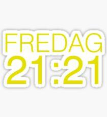 SKAM - FREDAG Sticker