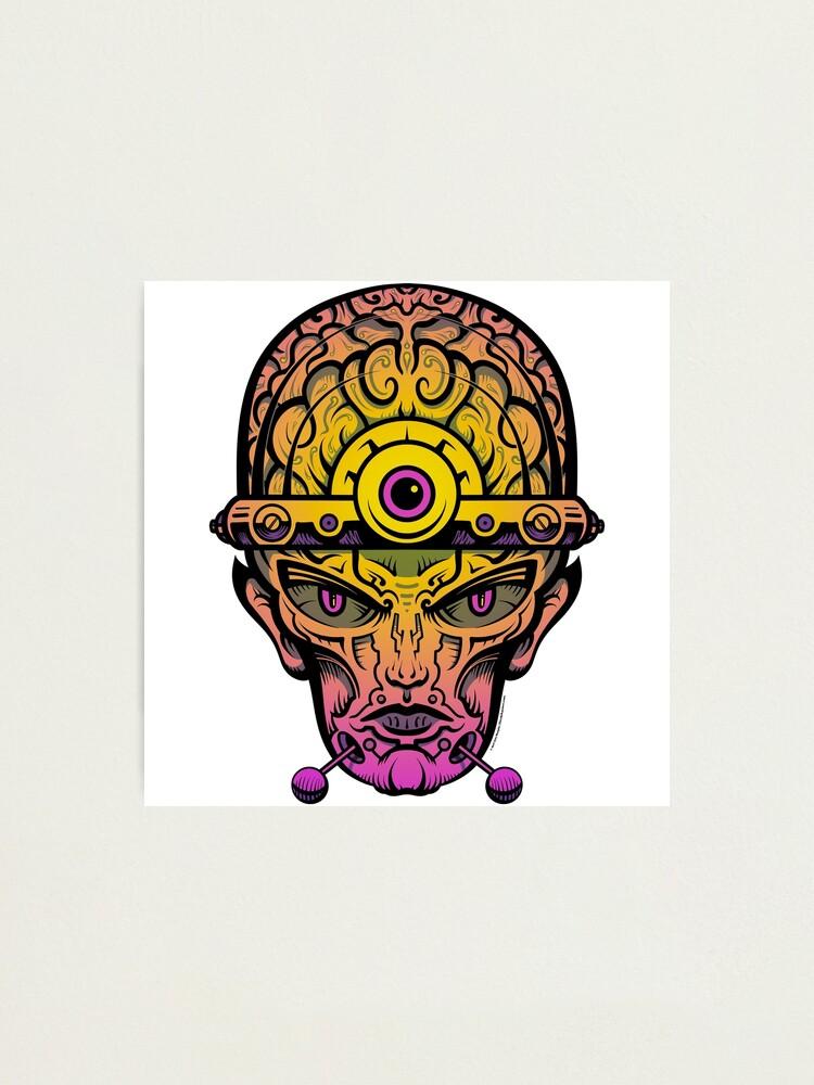 Alternate view of Eye Don't Mind - Alternative Fax remix Photographic Print