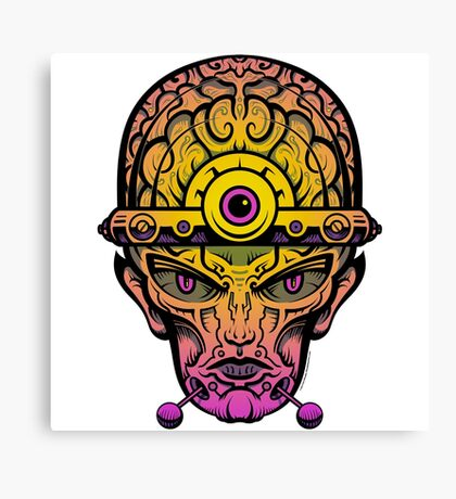 Eye Don't Mind - Alternative Fax remix Canvas Print