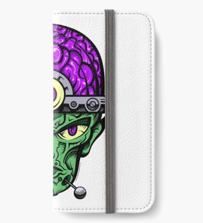 Eye Don't Mind - Full Color Jacket remix iPhone Wallet