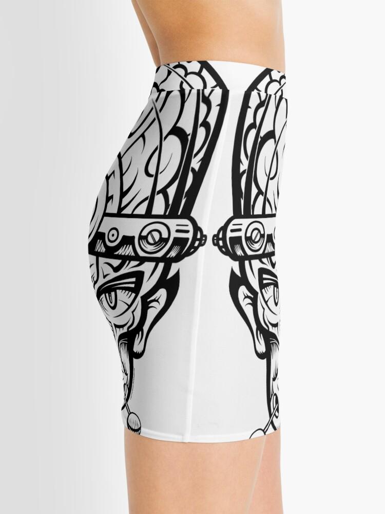 Alternate view of Eye Don't Mind Mini Skirt