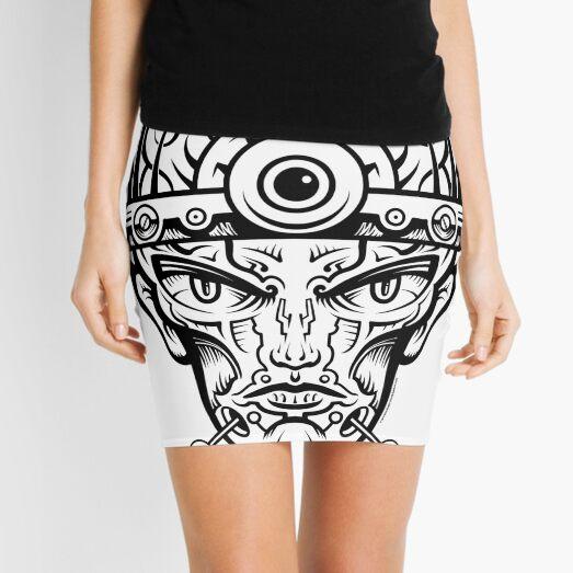 Eye Don't Mind Mini Skirt