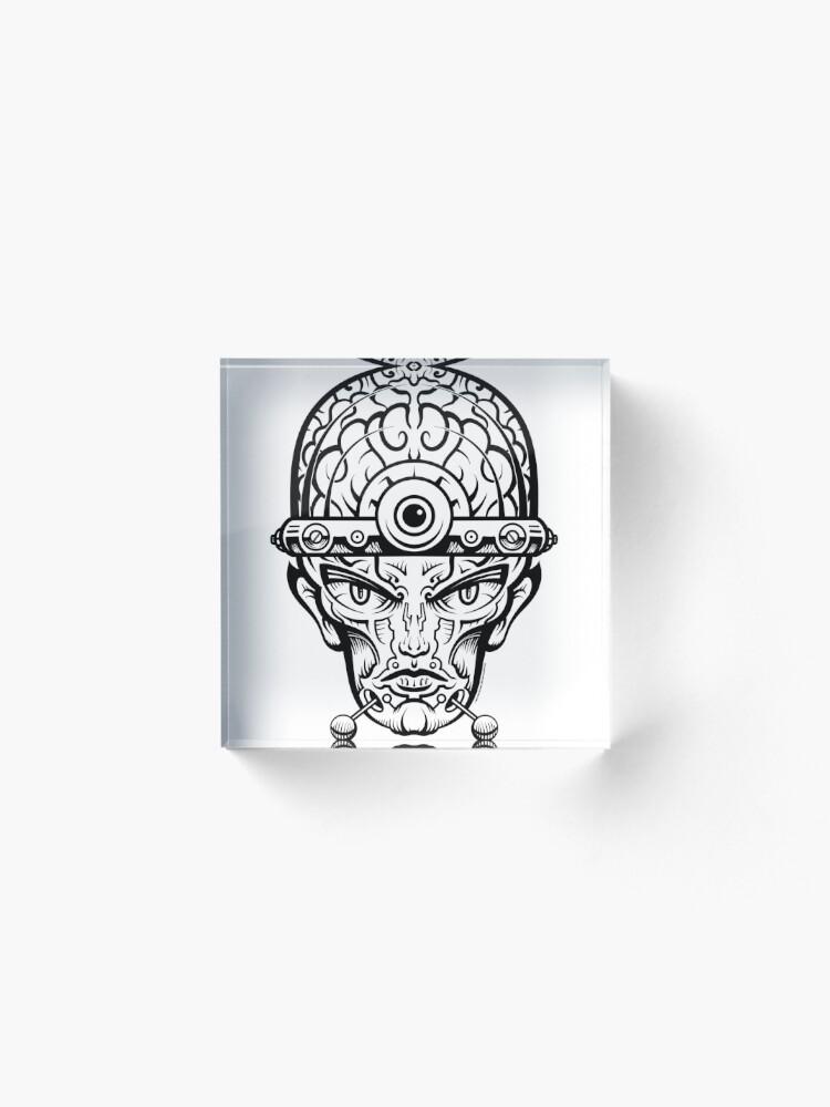 Alternate view of Eye Don't Mind Acrylic Block