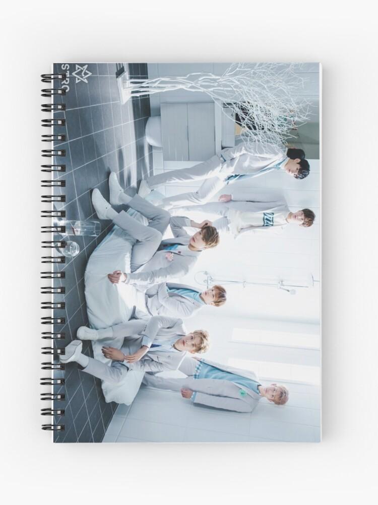 astro winter dream group   Spiral Notebook
