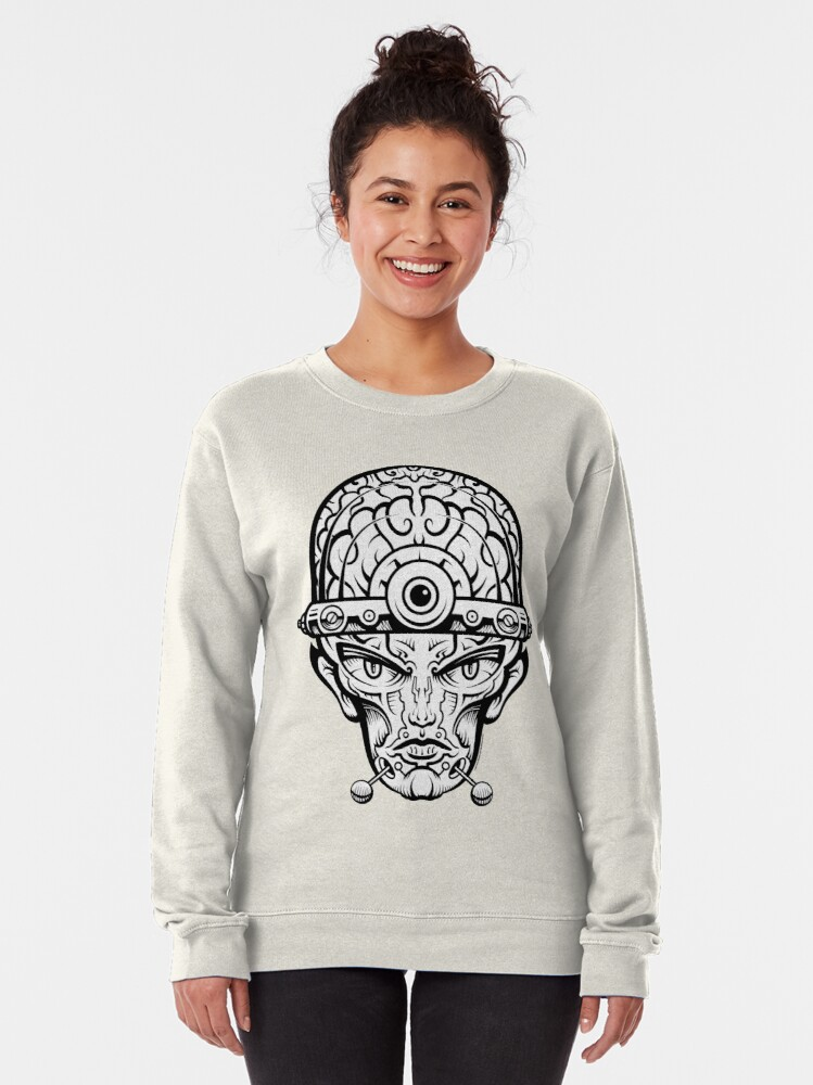 Alternate view of Eye Don't Mind Pullover Sweatshirt