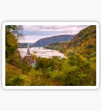 Potomac from Harpers Ferry Sticker