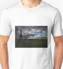 Soldier Guarding the Battlefield T-Shirt