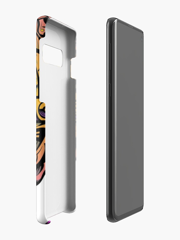 Alternate view of Eye Don't Mind - Alternative Fax remix Case & Skin for Samsung Galaxy