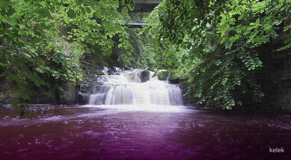 Purple Water by kelek