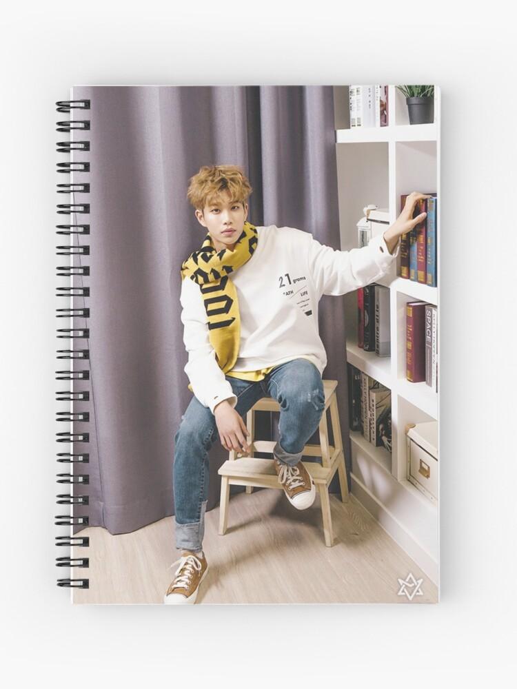 winter dream - MJ astro   Spiral Notebook