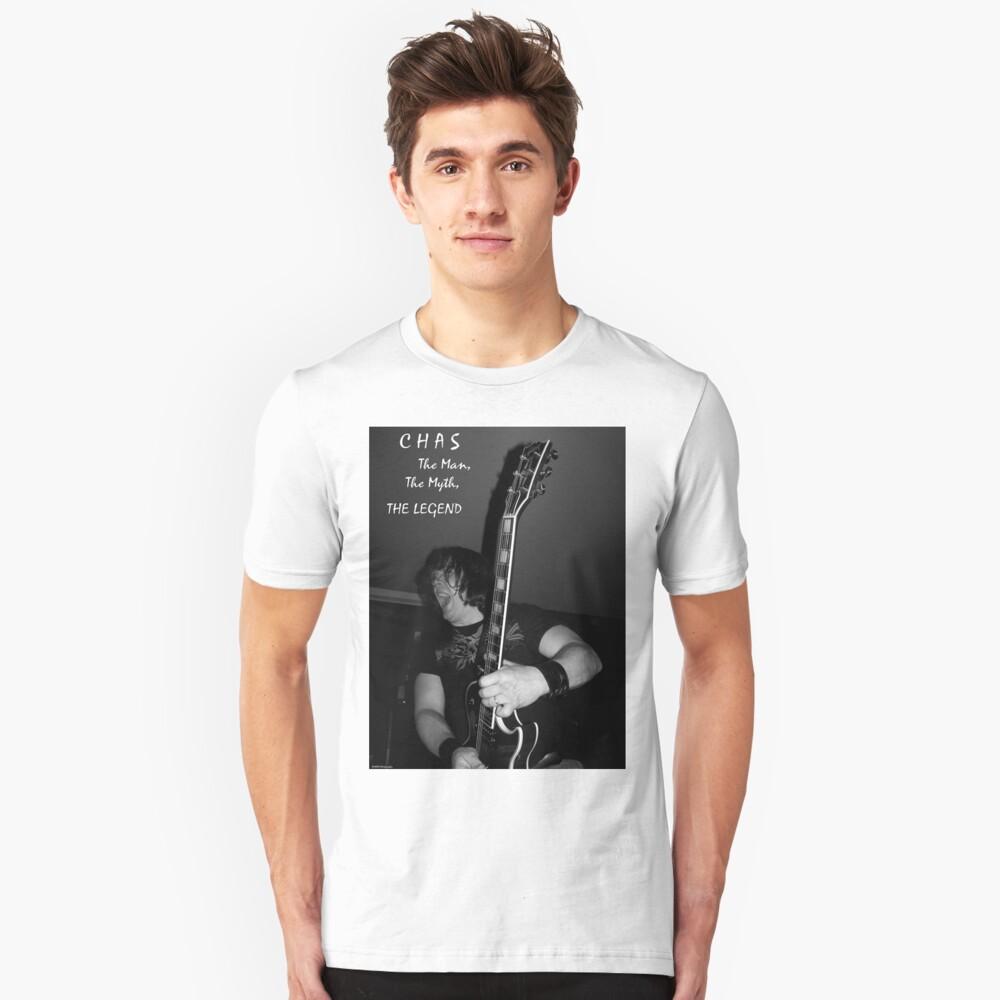 """Chas """"The Legend"""" Unisex T-Shirt Front"""
