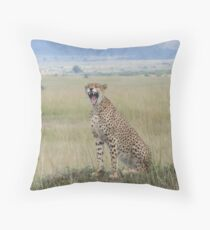 Tiredness Throw Pillow