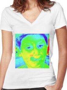 Penn 17 fishing apparel Women's Fitted V-Neck T-Shirt
