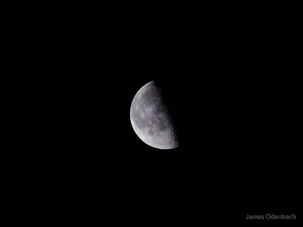 Moon by James Odenbach