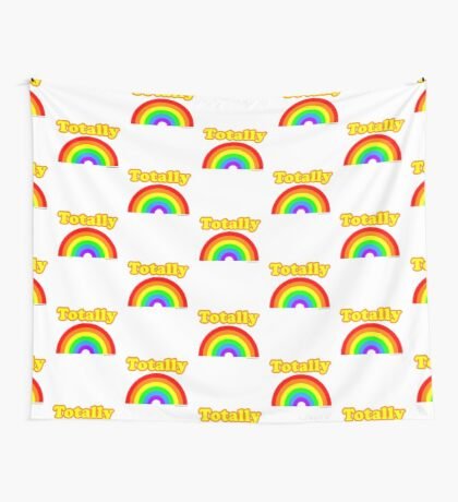 Totally Rainbow Logo Wall Tapestry