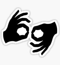 Interpreter ASL Sticker