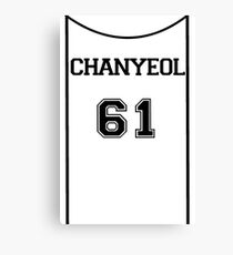 Exoplanet Inspired - Chanyeol 61 Canvas Print