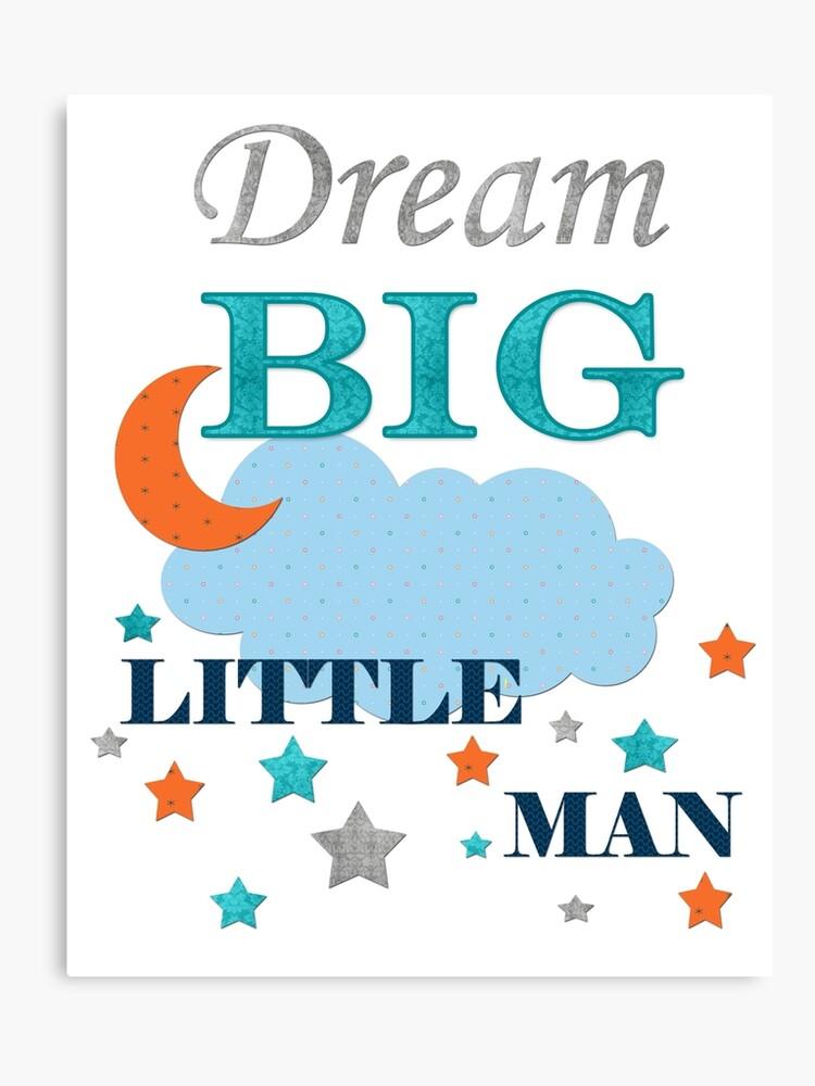 Nursery quotes baby boy quotes   Canvas Print