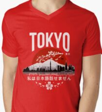Tokyo - 'I don't speak Japanese': White Version T-Shirt