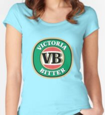 The Victoria Bitter Women's Fitted Scoop T-Shirt