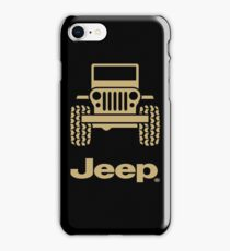 Jeep - gold iPhone Case/Skin