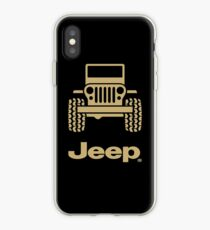 Jeep - gold iPhone Case