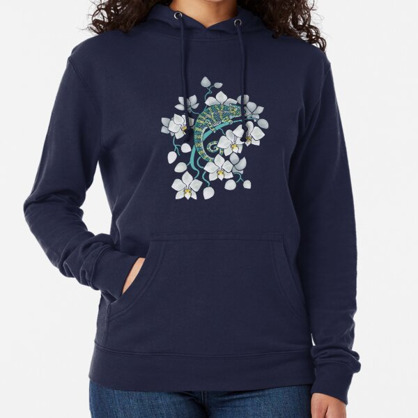 chameleons and orchids  Lightweight Hoodie