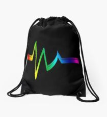 Resistor in Rainbow Drawstring Bag