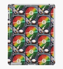 Computer Hard Drive Collage iPad Case/Skin