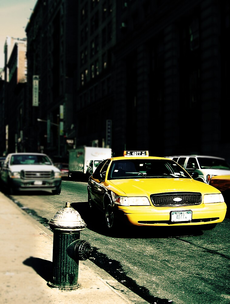 Yellow Cab by Adrian Richardson