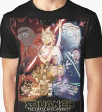 The Squanch Wars Graphic T-Shirt