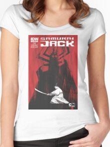 samurai jak yo Women's Fitted Scoop T-Shirt