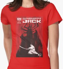 samurai jak yo Womens Fitted T-Shirt