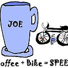 Coffee and bike = SPEED by HEVIFineart