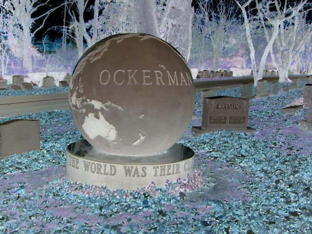 globe headstone by dmbouts