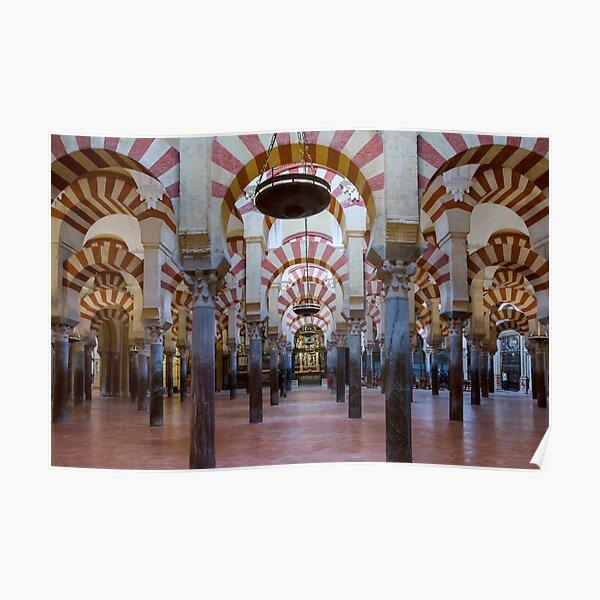 Mezquita-Catedral de Córdoba - Interior Poster