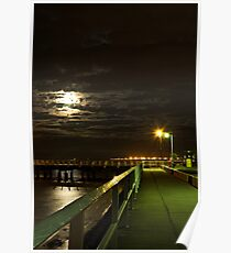 Shorncliffe Pier, Queensland Poster