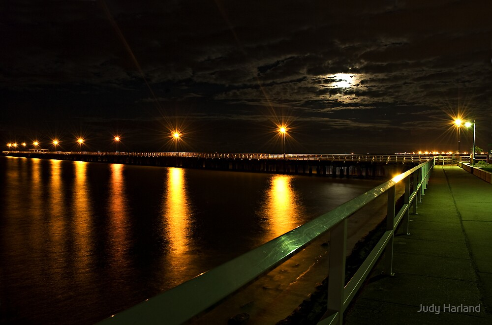 Shorncliffe Pier, Queensland by Judy Harland