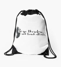 Fishers of Men Drawstring Bag