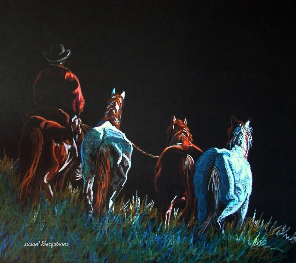 """""""Pickin' Up Strays"""" by Susan McKenzie Bergstrom"""