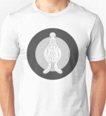 LG - The Modern Man - Art Toy Artwork - Mono Mod Roundel Unisex T-Shirt