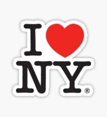 i love NYC Sticker