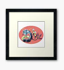 "Pokemon fusion ""Araquaotic"" Framed Print"