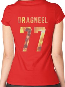 Dragneel jersey #77 Women's Fitted Scoop T-Shirt