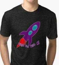 Come Fly With Me Tri-blend T-Shirt