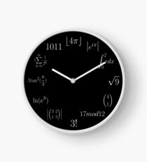 Mathematical Clock Clock