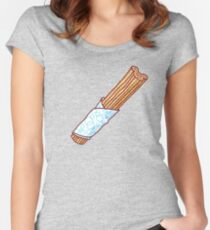 Churro Fitted Scoop T-Shirt