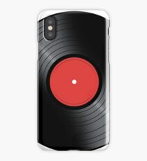 Music Record iPhone Case/Skin