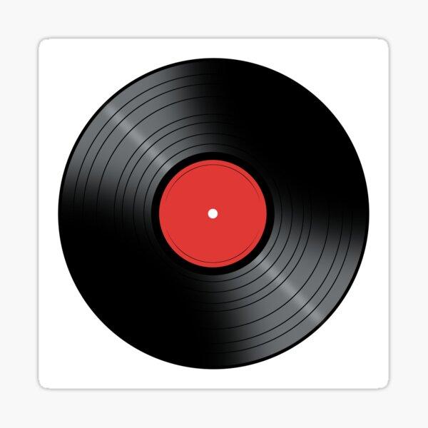 Music Record Sticker