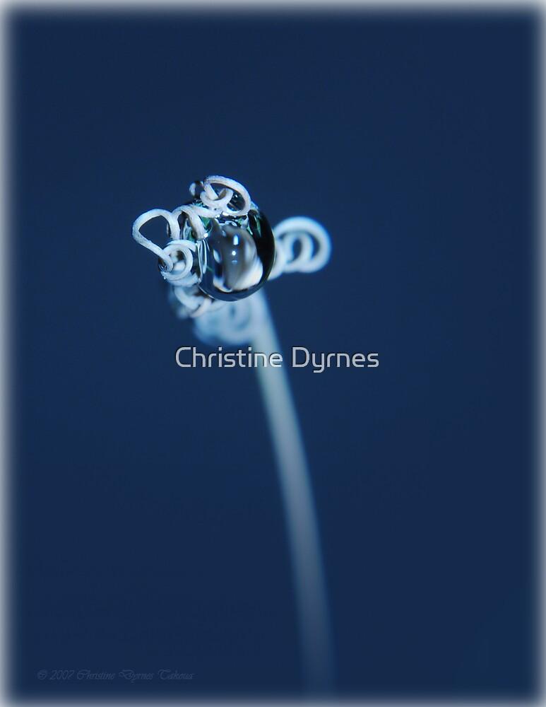 drop blue by Christine Dyrnes